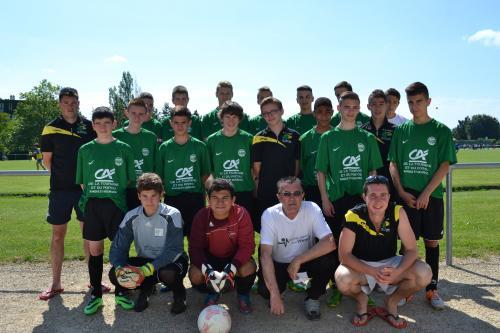 7 Poitiers Football Jaunay Clan 350 Jeunes Au Challenge Du Futuroscope